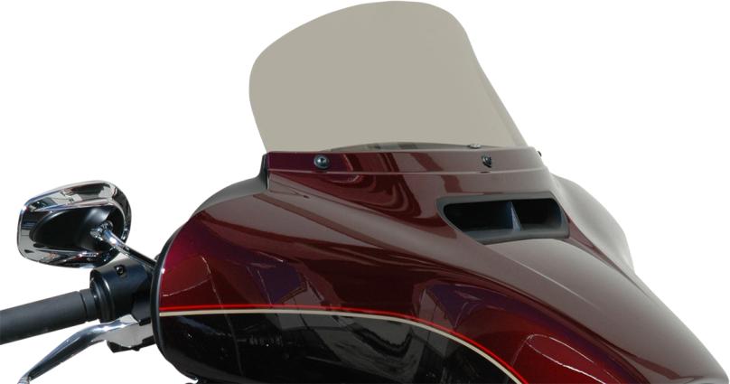 "Wind Vest 7"" Light Smoke Motorcycle Windshield 14-19 Harley Touring Bagger FLHXS"
