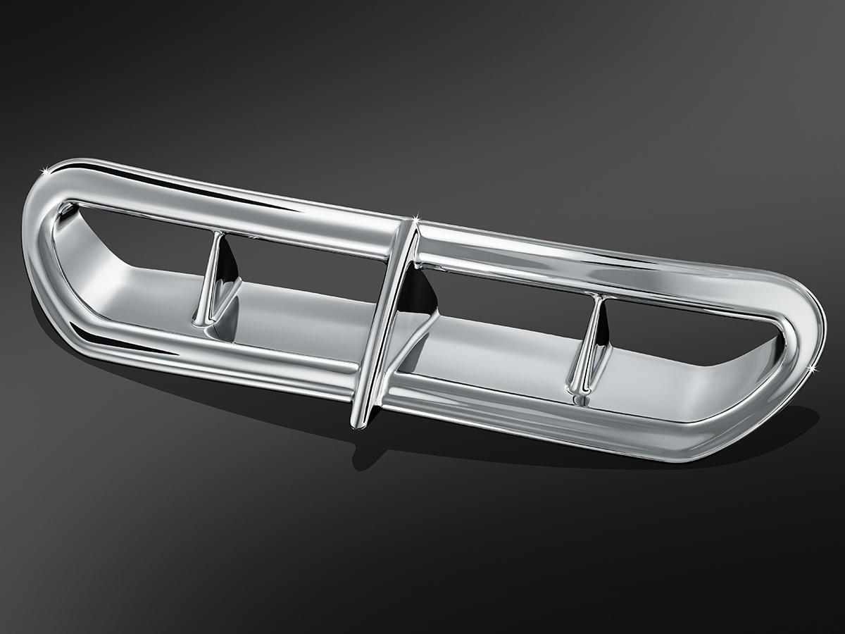Kuryakyn Chrome Front Fairing Accent Vent 14-19 Harley Touring FLHX FLHXS 6901
