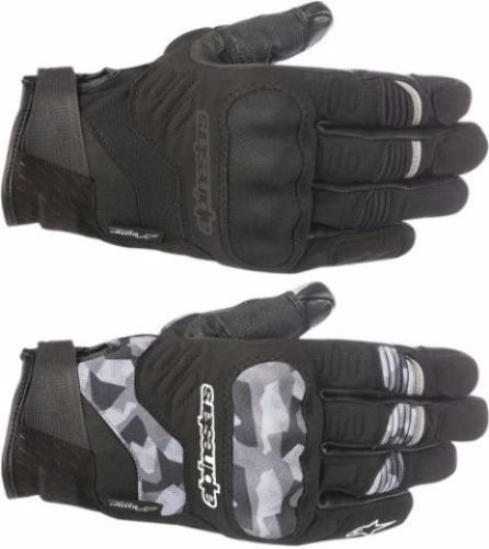 Alpinestars Mens C-30 Textile Drystar Motorcycle Riding Street Racing Gloves