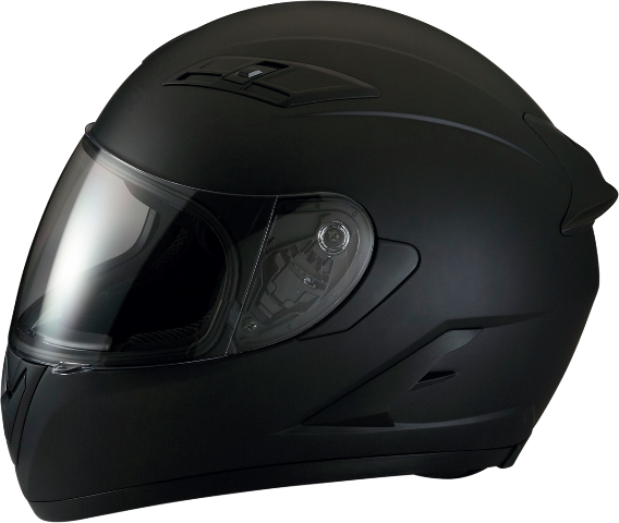 Z1R Strike Ops Flat Black Full Face Motorcycle Riding Street Racing Helmet