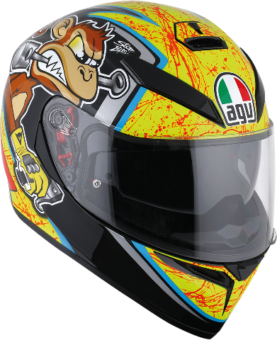 Agv Unisex K3 SV Gloss Bulega Full Face Motorcycle Riding Street Racing Helmet