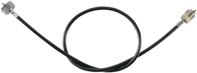 "Drag Specialties Black Vinyl Speedo Cable 40"" 79-95 Harley Davidson"