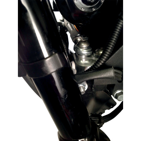 Details about Alloy Art Polished Motorcycle Combi Stabilizer Kit 06-17  Harley DYNA FXDL FXDWG
