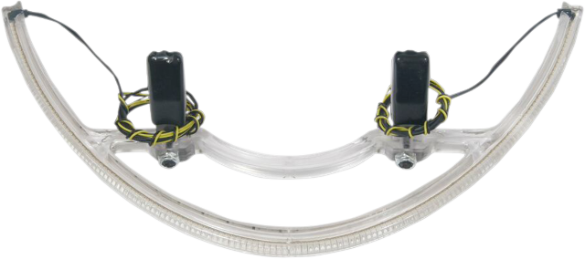 Custom Dynamics Rear Amber LED Clear Lens Turn Signal 06-15 Victory Jackpot