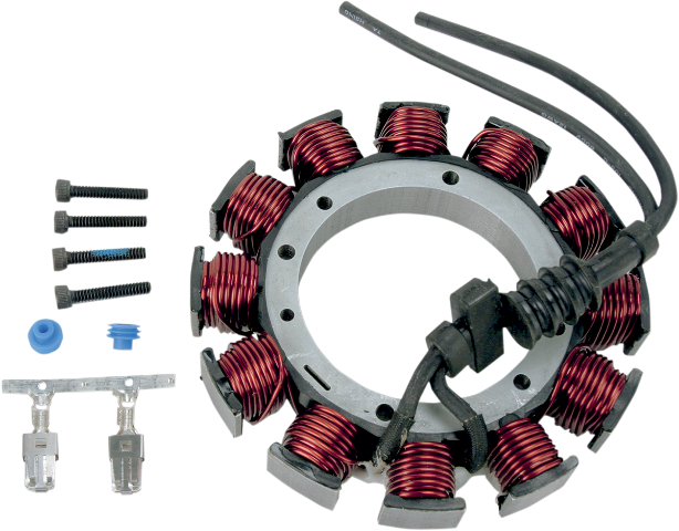 Drag Specialties 29A 12V Motorcycle Stator 99-03 Harley Dyna Softail FXD FLSTF