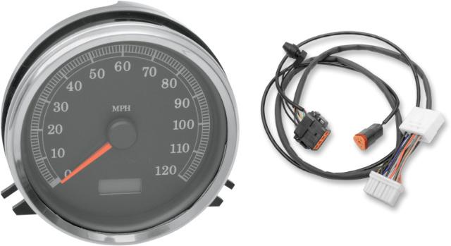 Drag Specialties KPH Speedo Speedometer & Harness for 96-97 Harley Touring FLHR