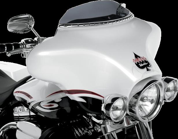 """Klock Werks Dark Smoke 3.5"""" Flare Windshield 96-13 Harley Touring FLHX DRESSER"""