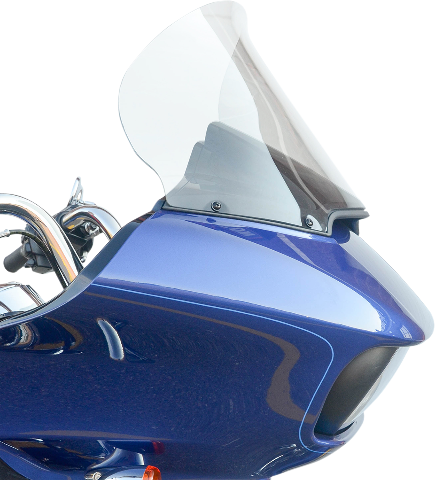"Klock Werks Pro-Touring 15"" Flare Clear Windshield for 15-20 Harley Road Glide"