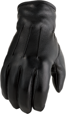 Z1R Mens Black 938 Leather Motorcycle Riding Street Racing Gloves Harley