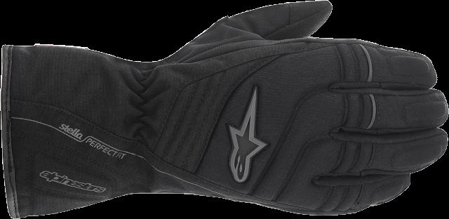 Womens Alpinestars Stella Textile Drystar Black Motorcycle Riding Street Gloves
