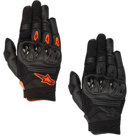 Alpinestars Mens S8 Megawatt Textile Motorcycle Riding Off road Racing Gloves