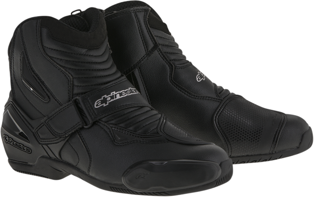 Alpinestars Mens Black Textile SMX-1R Motorcycle Riding Street Racing Boots