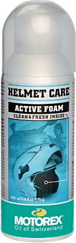 Motorex 200ML Foaming Motorcycle Helmet Aerosol Lining Cleaner Spray Harley