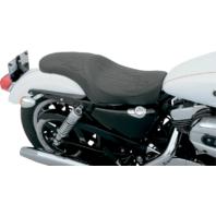 Drag Specialties Black Flame Predator Seat 04-18 Harley DavidsonSportster XL
