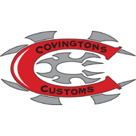 Covingtons Chrome & Black Hot Rod Motorcycle Exhaust 86-11 Harley DYNA Softail