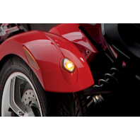 Custom Dynamics Front Fender Tip LED Run/Turn Lights 08-13 Can-Am Spyder