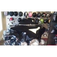 "Klock Werks Black Flare 6.5"" Windshield 96-13 Harley Davidson FLHT FLHX FLHTC"