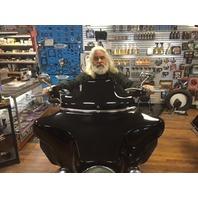 "Klock Werks Black 8.5"" Flare Windshield For 96-13 Harley Davidson Touring FLHX"
