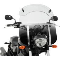 Memphis Shades Fats Hot Wings Windshield Extension Spoiler for Harley Honda