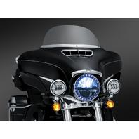 Kuryakyn Chrome Front Fairing Accent Vent 14-18 Harley Touring FLHX FLHXS 6901