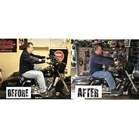 "Vtwin Floorboard footboard 2"" extension kit Harley Davidson touring 83-08 FLHT"