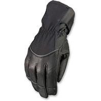 Women Z1R Waterproof Black Textile Recoil Motorcycle Riding Street Racing Gloves