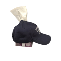 Easily Offended Tissue Hat box cover I Support & Respect Law Enforcement Police
