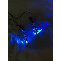 New JT's Cycles Cycles LED light up .50 caliber genuine bullet harley footpegs