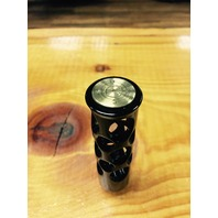 JT's Cycles .50 caliber bmg bullet black Shifter peg motorcycle harley XL FXD