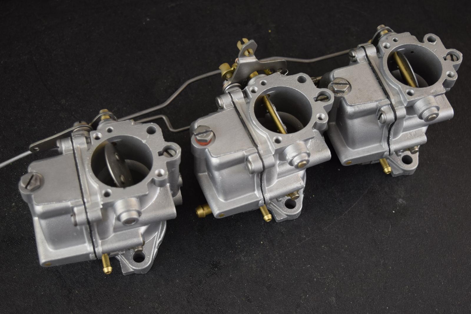 REBUILT! 1974 Johnson Evinrude Carburetor Set 386268 386269 C# 319230 70HP