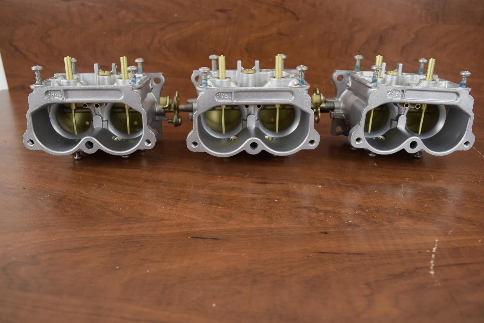 CLEANED! 1989-1990 Johnson Evinrude Carburetors 432124 C#: 334329 150 175 HP