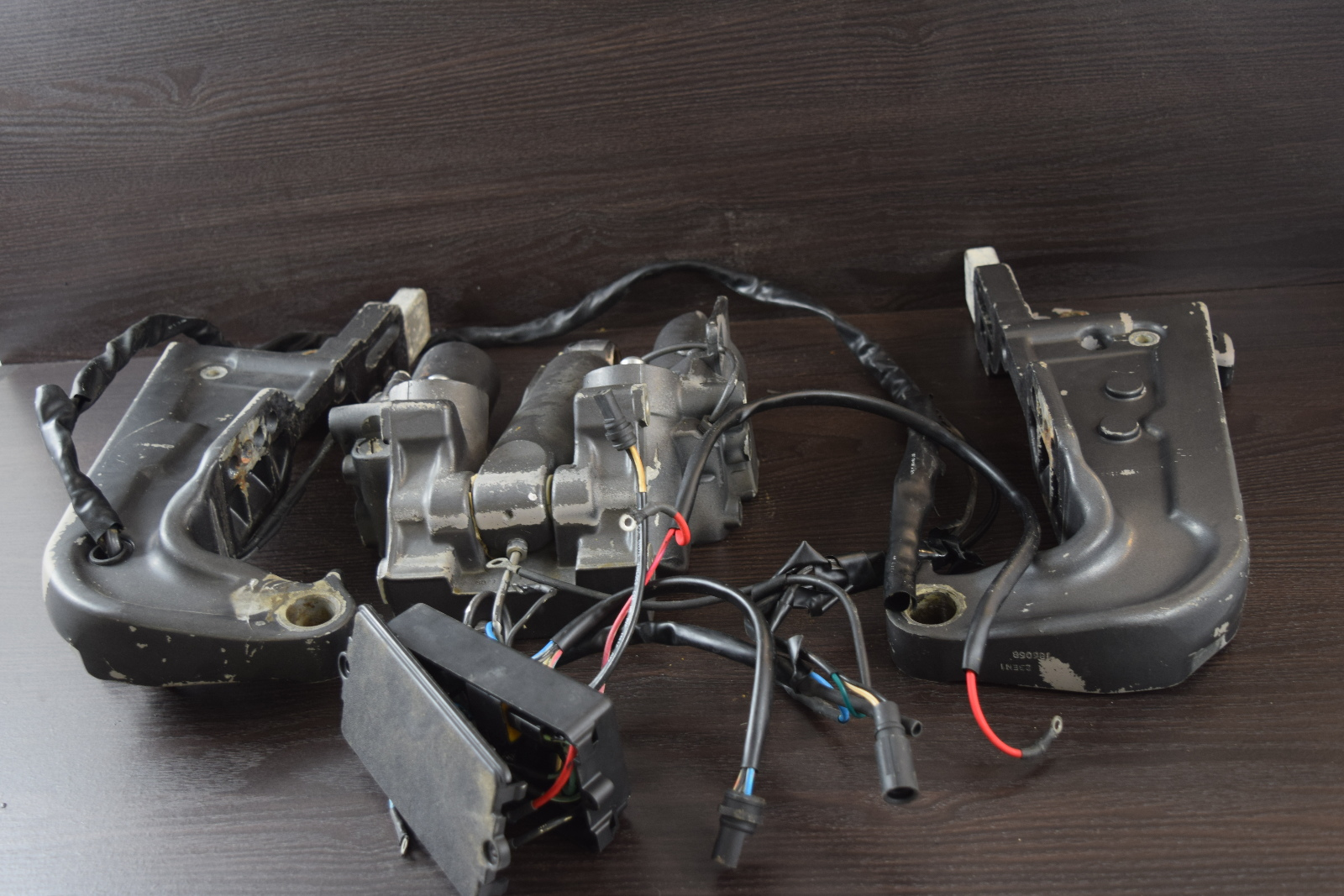 1 YEAR WTY! 1978-92 Johnson Evinrude OMC Crossfire Power Trim Unit Omc Power Lift Wiring Harness on