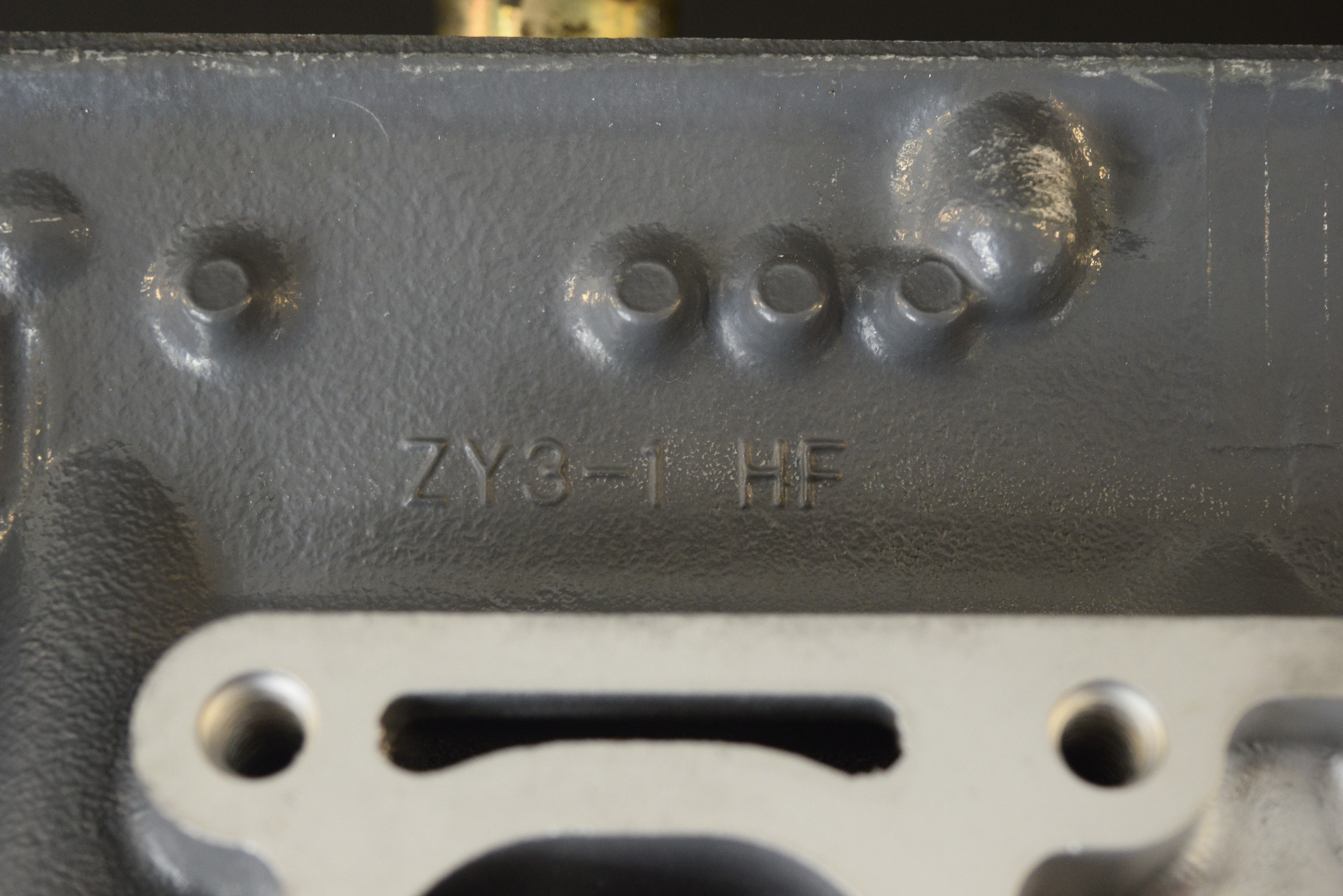 12225-ZY3-000ZA Honda 2002-05 PORT Cylinder Head Assy 200 225 HP  REMANUFACTURED
