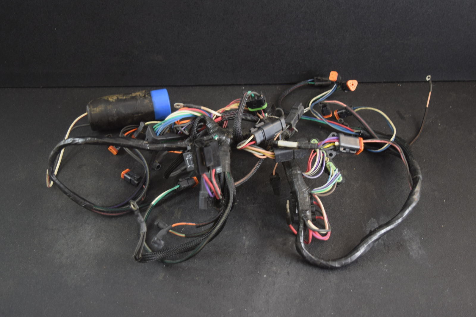 1998 1999 Johnson Evinrude Motor Cable Engine Harness 586266 90 115 Wiring For Outboards Hp V4
