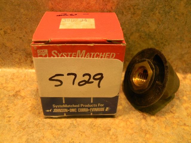 New Johnson Evinrude Propeller Nut Prop 390294 1980-1997 25 28 35 HP Nose  Cone