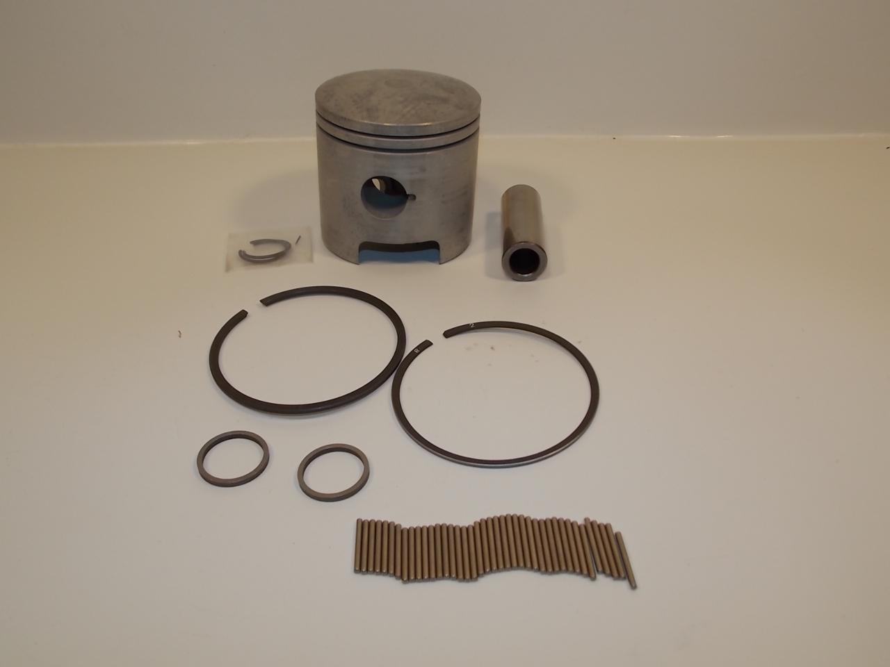 NEW Quicksilver Yamaha Mariner Piston Kit 8486M 1977 1980 1985-1990 1992 30 HP