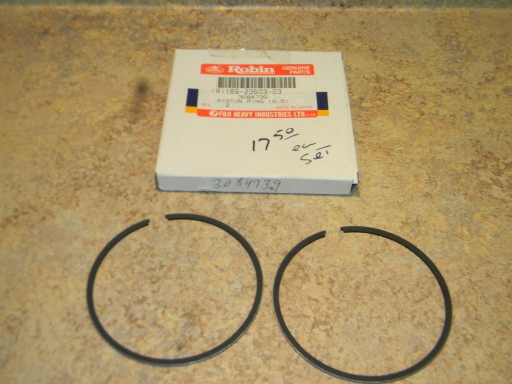 NOS Polaris Robin Snowmobile ATV Piston Rings .50mm OS 3084739 169-23503-03