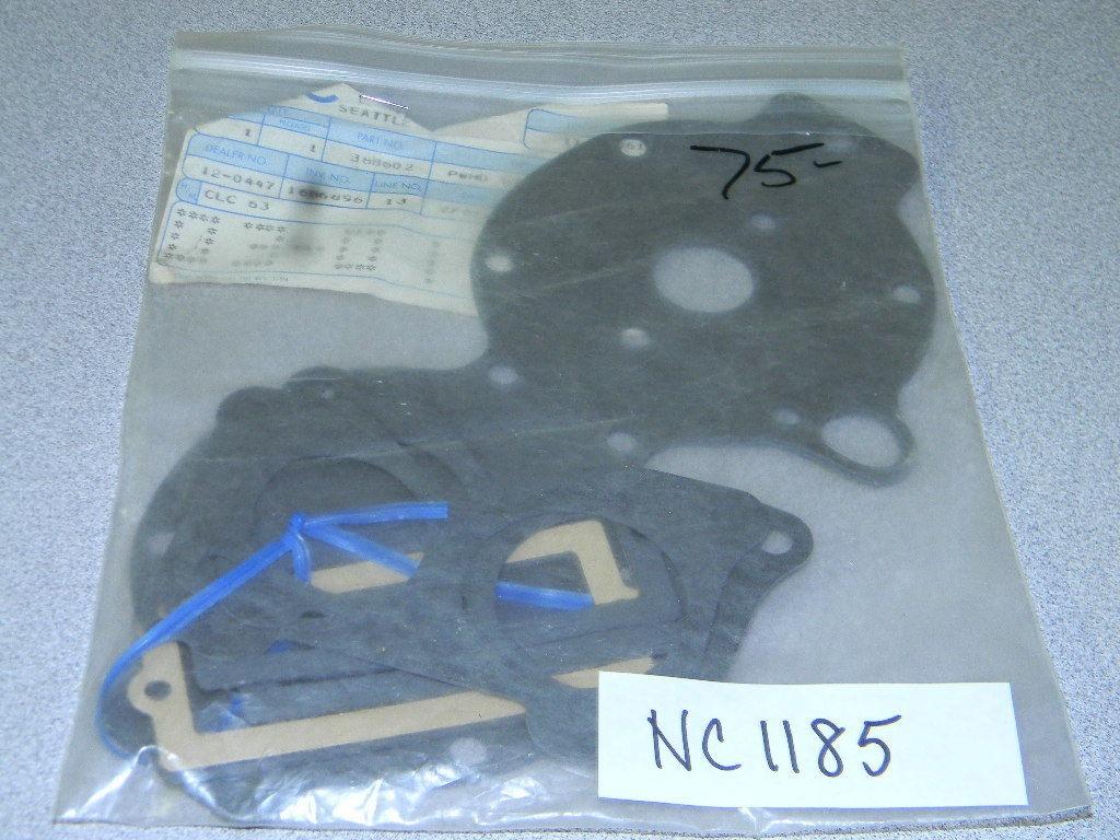 NOS OMC Johnson Evinrude Powerhead Gasket Set 388602