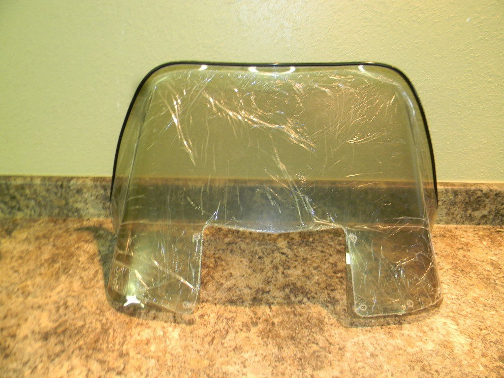 "NEW OLD STOCK! Arctic Cat 1979-1980 Lynx 15"" High Smoke Windshield 0116-966"