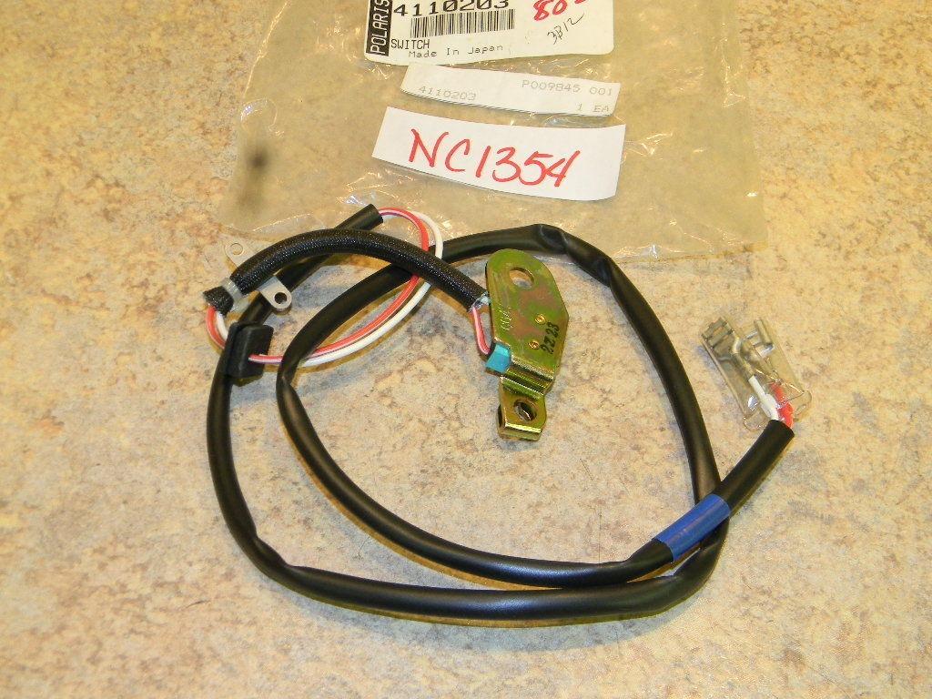 NOS Polaris Snowmobile ATV Throttle Cable Switch 4110203 Sportsman