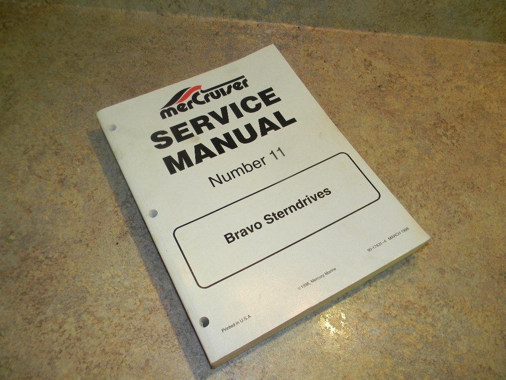 Mercury Service Manual for Bravo Sterndrive 17431 ...