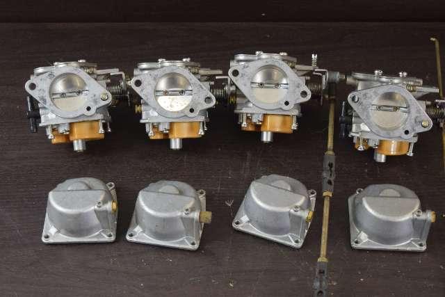 CLEAN! 2002 & Earlier Nissan Tohatsu Carburetor Set C# M140AA-EE28 140 HP