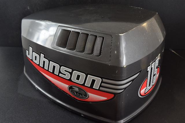 2000 Johnson Evinrude Top Cowl Cowling Hood 90 115 HP 5001188 V4