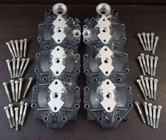 2006 & UP Evinrude ETEC Cylinder Head Set 5006385 5006385 C# 350948 135 150 175+