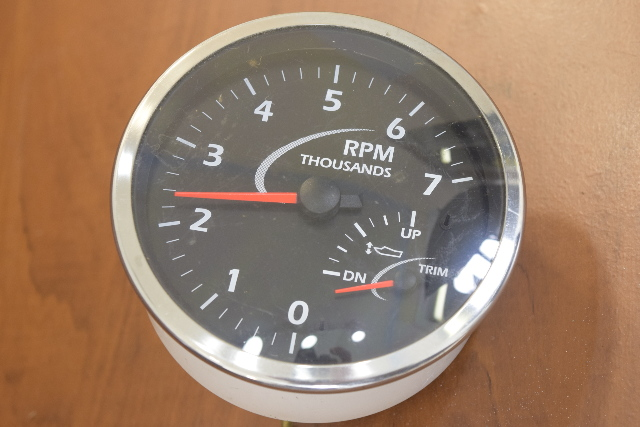 Beede Honda Tachometer with Trim Gauge 4-1/2