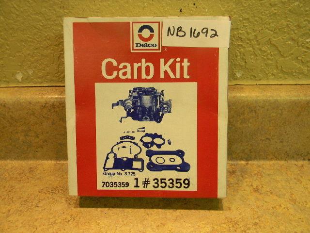 NEW Johnson Evinrude OMC Delco Carburetor Repair Kit 383918