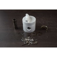CLEAN! Mercury Mariner Standard 3 Ring Piston with Hardware C# 745-4973