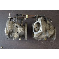 CLEAN! Nissan Tohatsu Carburetor Set C# B57C-YK14 B57CYK14 55 HP
