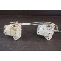 FOR PARTS ONLY! 1960's Westbend Carburetor Set  OM17A OM-17A 80 HP 80353