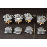 CLEAN! 2002 & Earlier Nissan Tohatsu Carburetor Set C# M140AA-EE28 140 HP